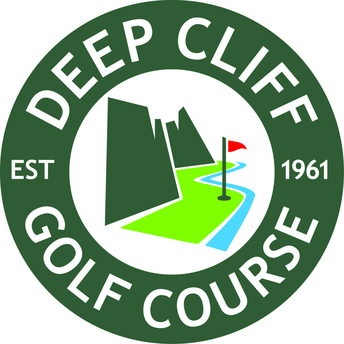 Deep Cliff circle logo color